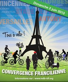 Convergence francilienne : tous à vélo le dimanche 2 juin